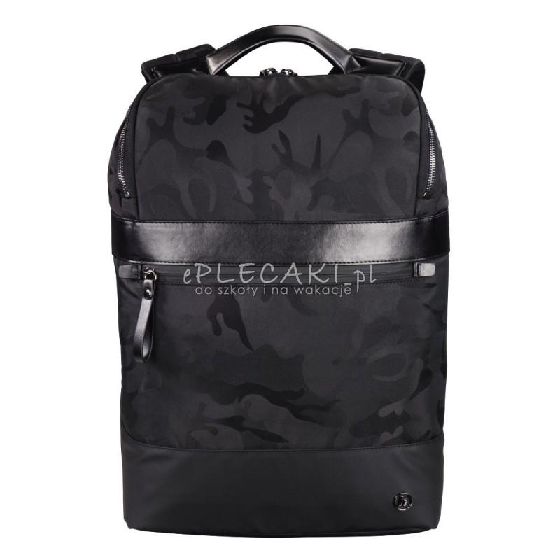 a286674622e5 Czarny plecak moro glamour na laptop dla młodzieży