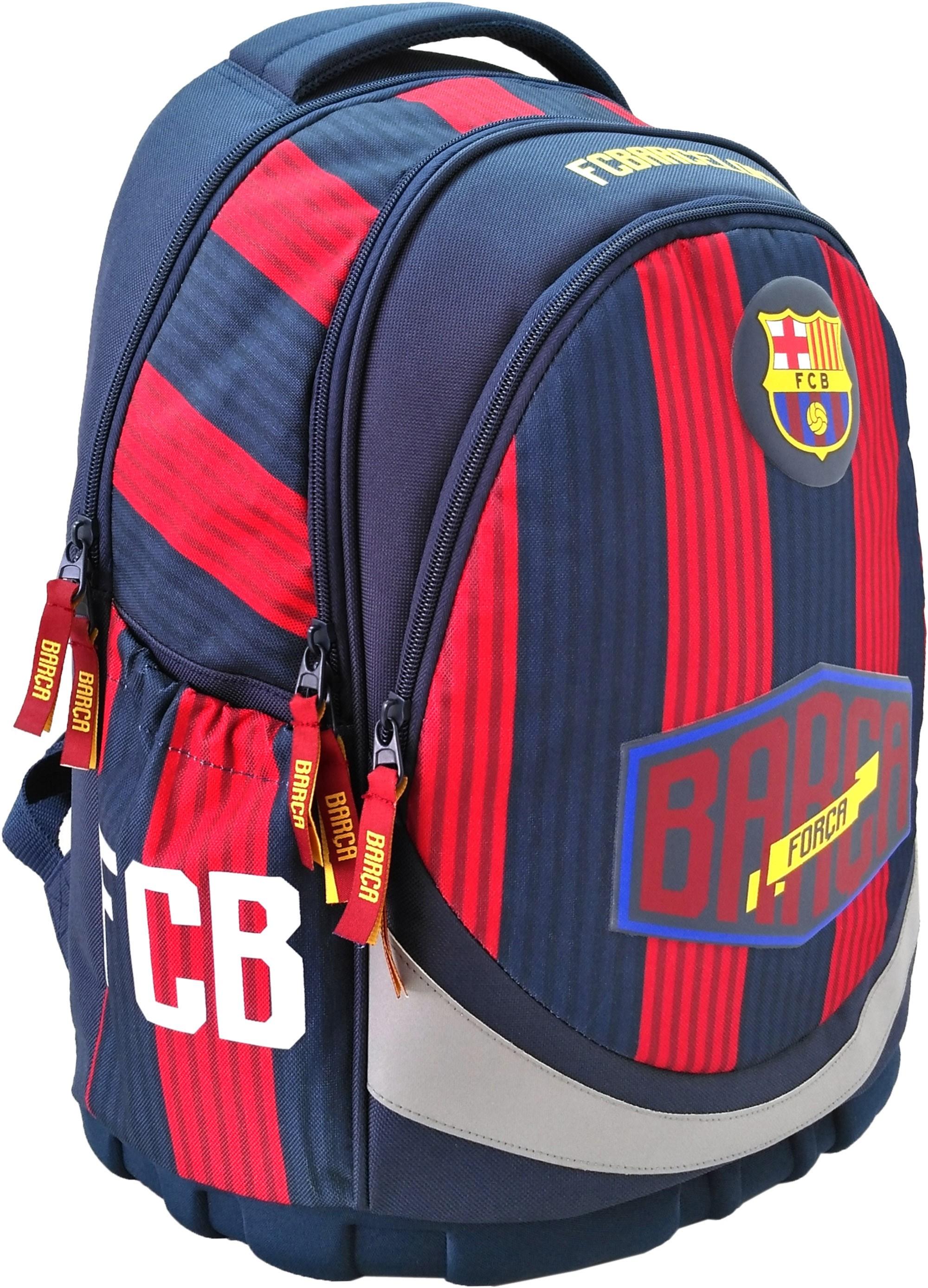 7c9ee7c4090cc Plecak FC Barcelona ergonomiczny do klas 1-4 dla chłopaka