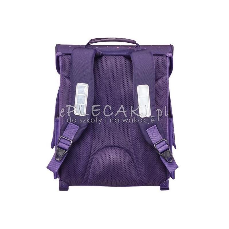 7714efe325b24 Fioletowy tornister unicorn jednorożec dla dziewczynki do 1 klasy  Tornister  unicorn