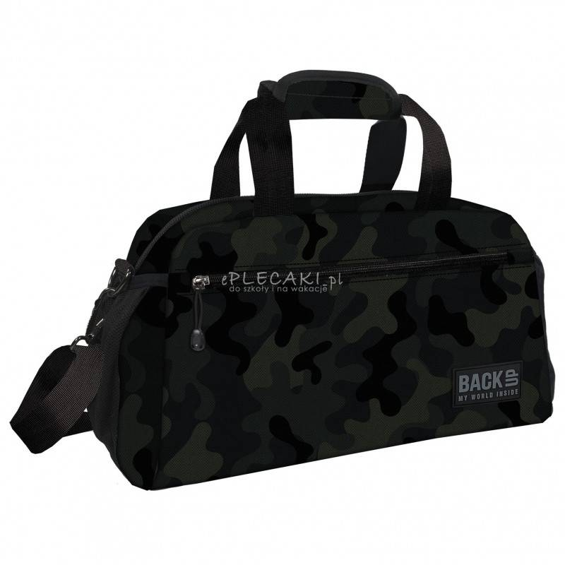 9ff7d23711301 Torba moro dla chłopaka BackUP, sportowa torba męska, torba na basen dla  chłopaka lub