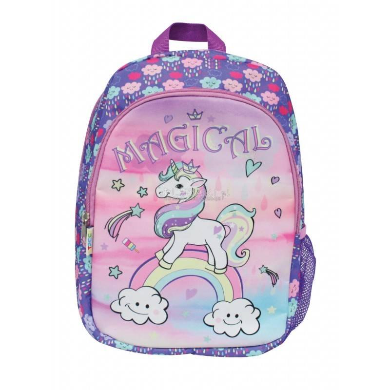 b2ea712edaad5 Mały plecak dla dzieci - UNICORN, JEDNOROŻEC - Street - plecaczek  jednorożec na wycieczkę