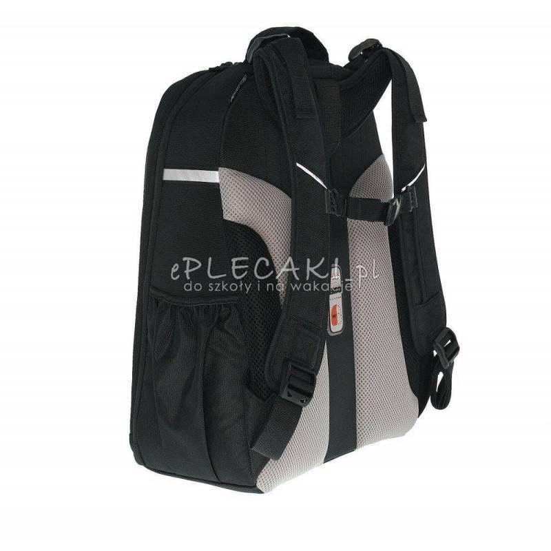 Czarny plecak Herlitz be.bag Airgo Smiley z emotikonami dla