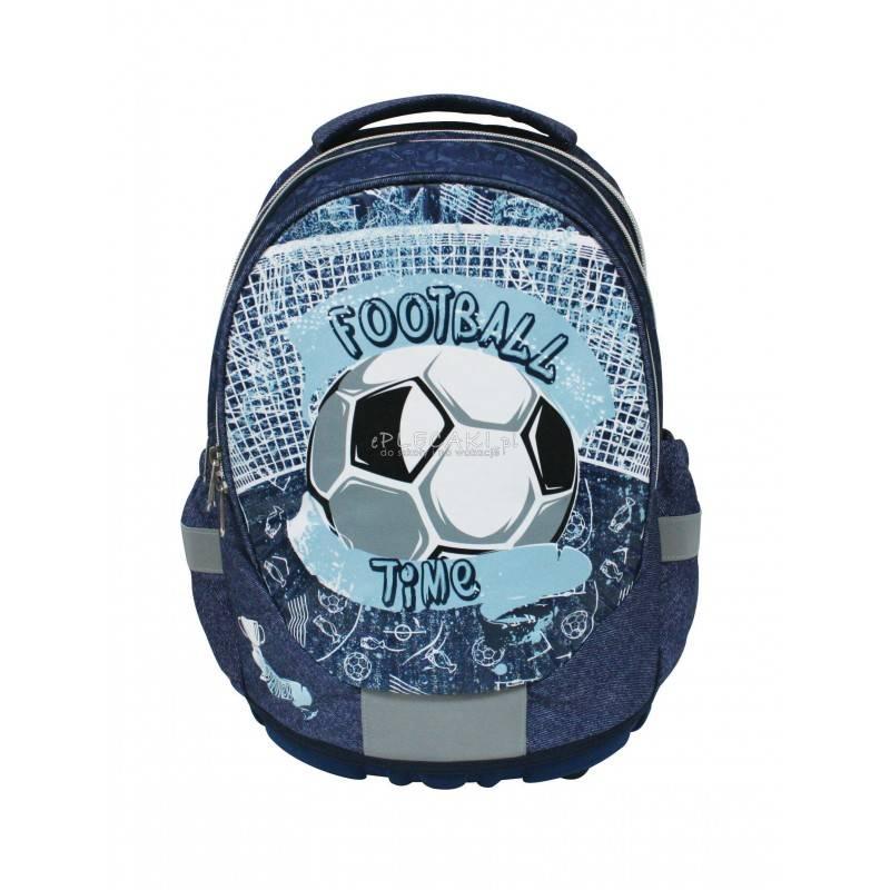 988557e8db50d Granatowy plecak z piłką nożną