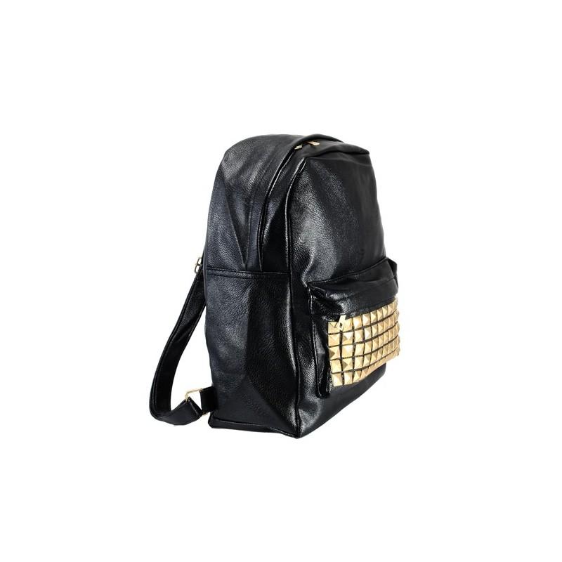VINTAGE plecak retro czarny - AZTEC