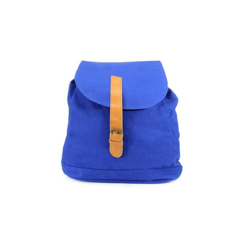 Plecak Vintage London Style /niebieski/
