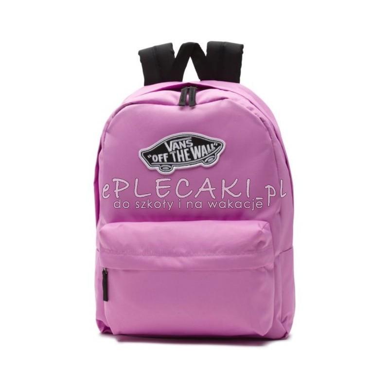 kody promocyjne najlepiej tanio słodkie tanie Plecak VANS Realm BackPack - VIOLET - FIOLETOWY, LILIOWY