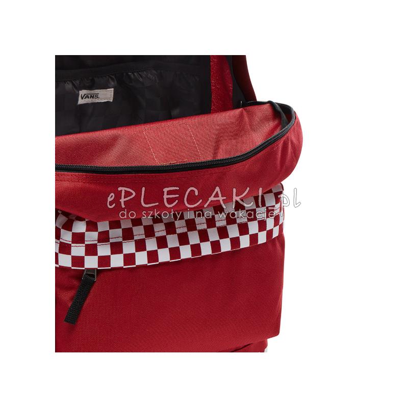 plecak miejski vans Sporty Realm Plus czerwony