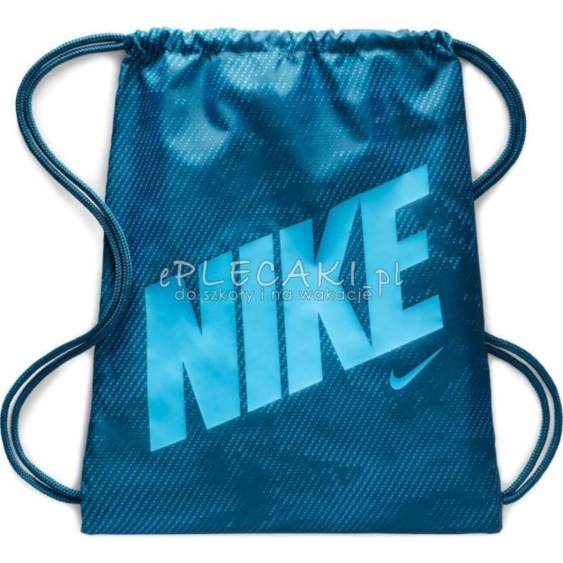 więcej zdjęć zegarek na stopach zdjęcia Worek/ plecak na sznurkach na obuwie - niebieski - NIKE