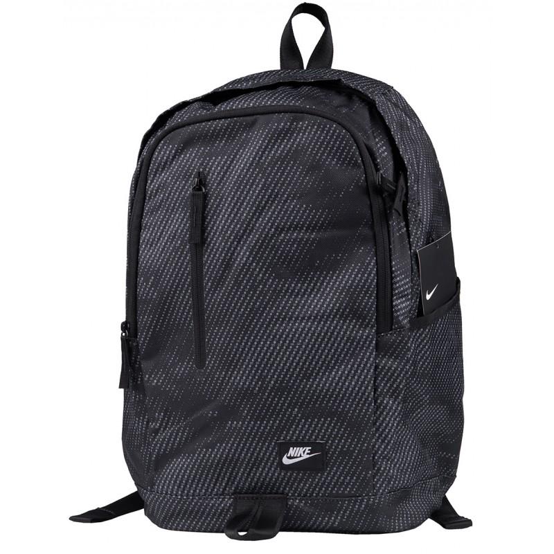 d17dc7087b21e Czarny plecak młodzieżowy Nike