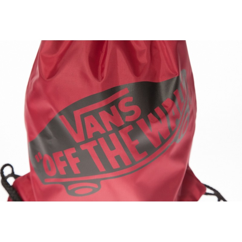 b042c56b9719d Worek / plecak na sznurkach Vans Benched Bag bordowy