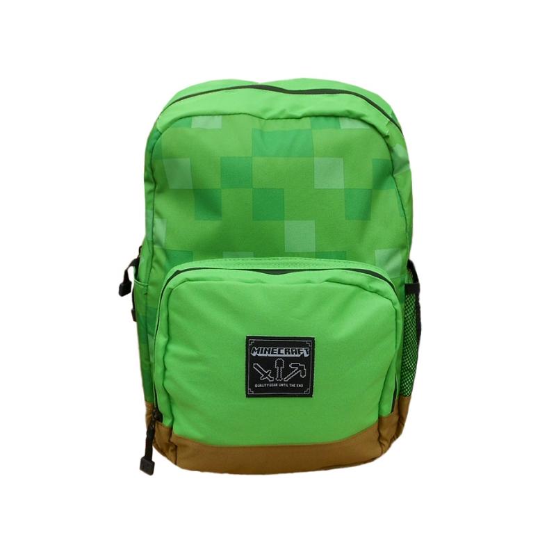 9a8ada30fb139 Plecak Minecraft zielony na laptop i tablet