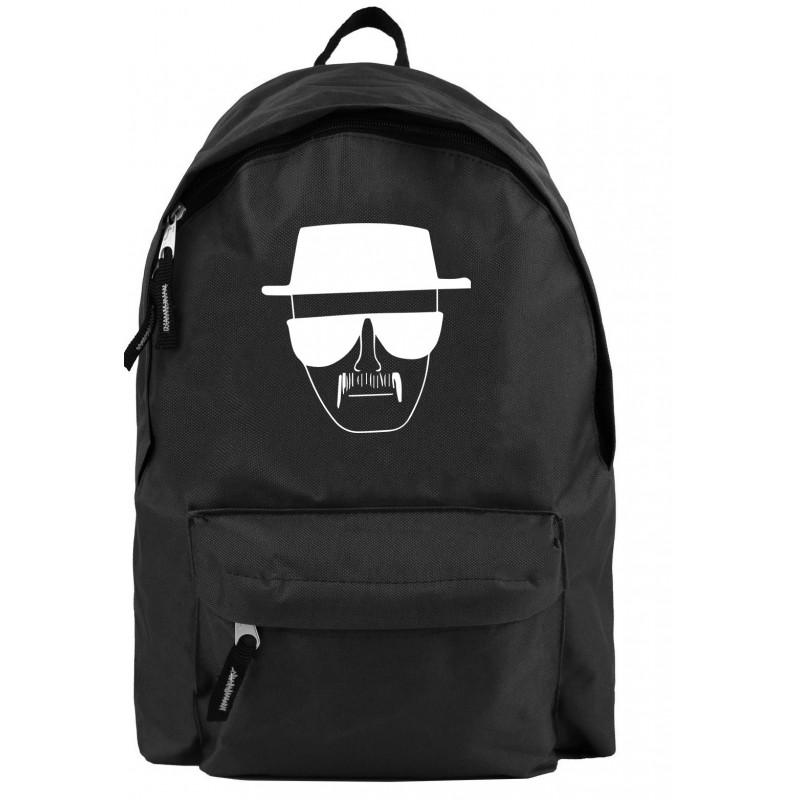 c5cc44fbfff31 Plecak miejski Z OKULARNIKIEM, plecak Heisenberg , plecak z nadrukiem  faceta z wąsem w oklularach