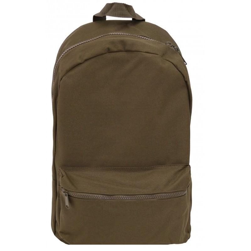 b1c40cb0c1c3d Ciemne KHAKI plecak na laptop gładki ciemnozielony dla chłopaka