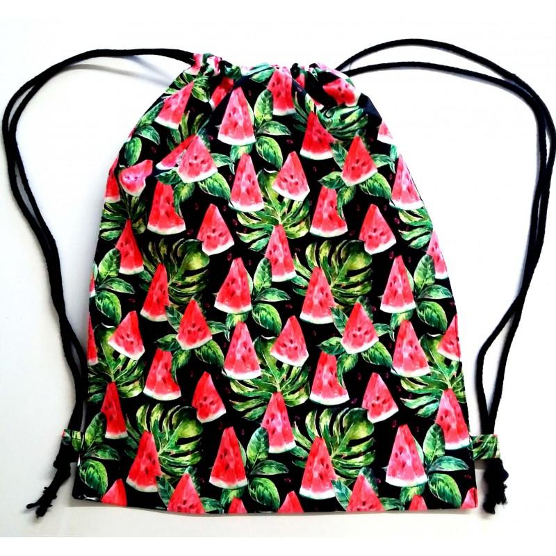Kolorowy Worek Na Wf Arbuzy Watermelon Do Szkoly Dla Ucznia