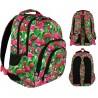 Plecak młodzieżowy ST.RIGHT FLAMINGO PINK & GREEN flamingi BP25 BACK TO SCHOOL
