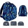 Plecak młodzieżowy PEACOCK pawie oczka BP06