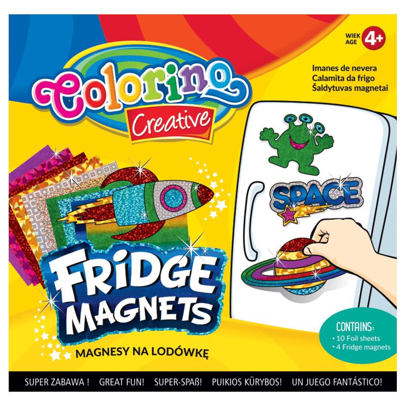 Magnesy na lodówkę Colorino z kosmosem