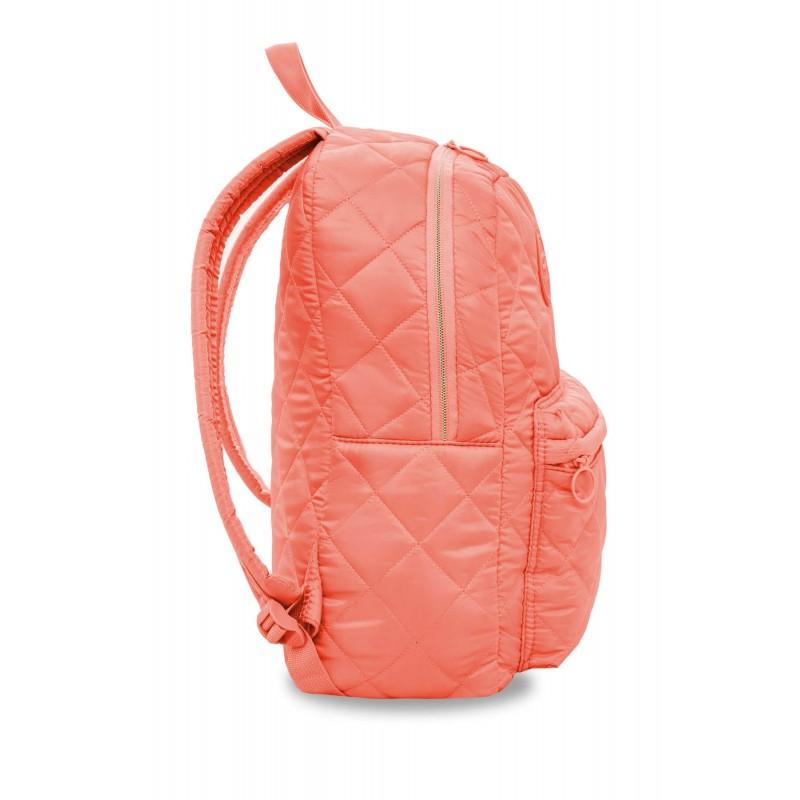 cd864e2c669dae ... Brzoskwiniowy plecak pikowany puch dla dziewczyny CoolPack Ruby Peach  Mallow bok ...