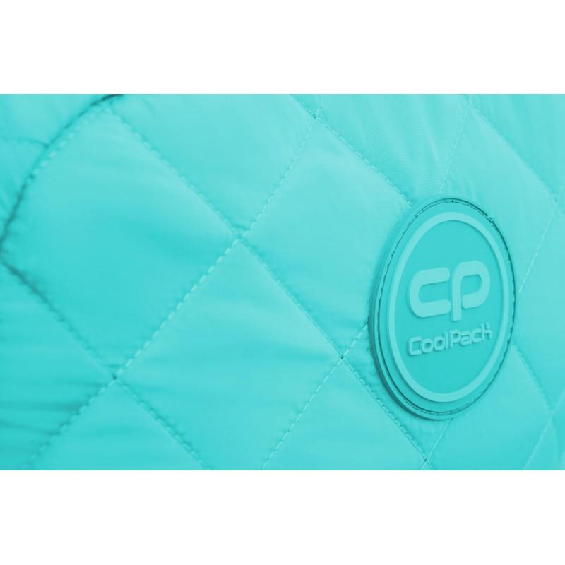 da481ce0ed7c14 ... Niebieski plecak pikowany puchowy dla dziewczyny CoolPack Ruby Sky Blue  błękitny ...