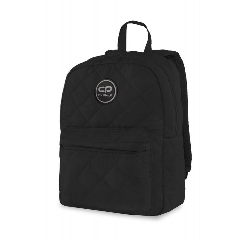 f7d846a1c6a30d Pikowany plecak puchowy czarny dla dziewczyny CoolPack Ruby Black