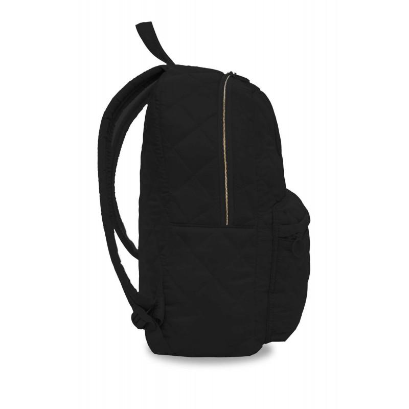 c1a67e74e806b9 ... Czarny plecak pikowany puchowy dla dziewczyny CoolPack Ruby Black bok  ...