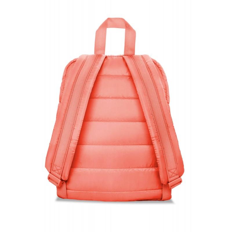 33cc54ae37b684 ... Różowy plecak pikowany mały dla dziewczyny CoolPack Abby Peach Mellow  tył ...