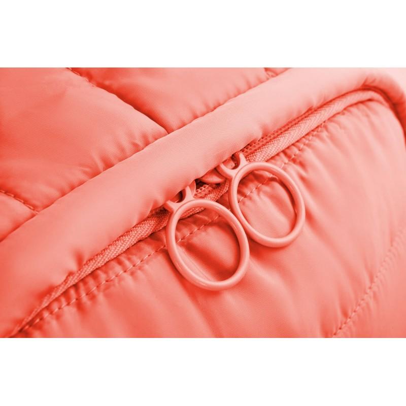 33b2dcde074243 ... Różowy plecak pikowany mały dla dziewczyny CoolPack Abby Peach Mellow  kieszeń ...
