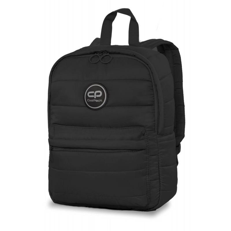 276280a7bc33d Plecak pikowany czarny mały dla dziewczyny CoolPack Abby Black