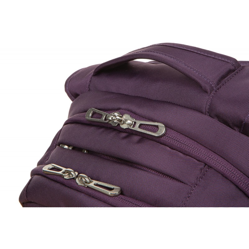 8afc86fc0d65a ... Fioletowy plecak męski na laptop biznesowy CoolPack CP Might Purple 2  komory ...