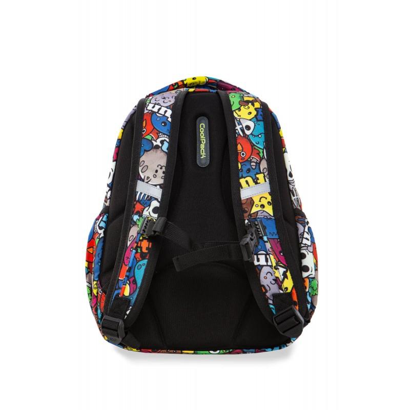 58f9a3e4459cc ... CARTOON  Świecący plecak z kreskówką do 1 klasy CoolPack Strike S dla  dziecka tył ...