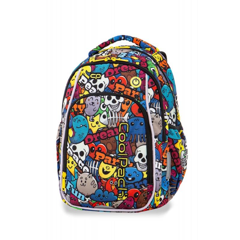 9764fbdd39b9b ... Świecący plecak z kreskówką do 1 klasy CoolPack Strike S dla dziecka  LEDPACK ...