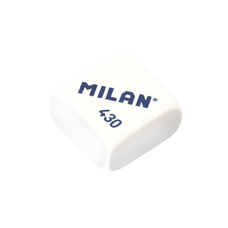 Gumka do mazania Milan klasyczna kwadratowa MIX kolorów