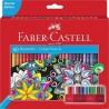Kredki ołówkowe Faber-Castell różne kolory 60 szt. profesjonalne