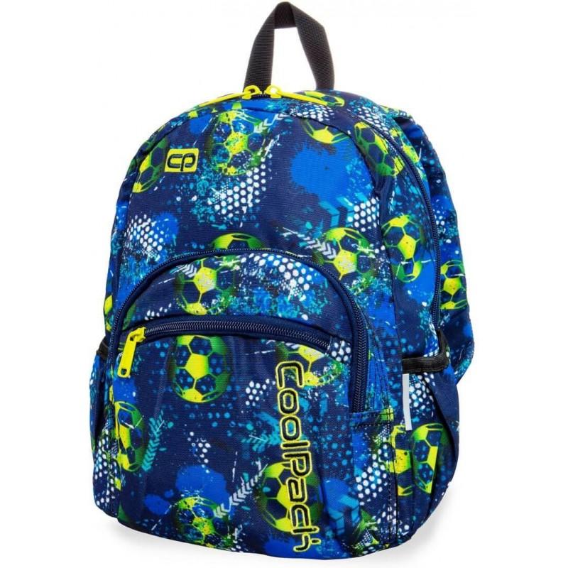 62159f4e92ad6 Mały plecak wycieczkowy z piłką nożną CoolPack Football Blue Mini