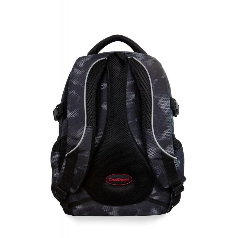 35b0cf7279669 ... Usztywniony plecak w plamki młodzieżowy dla chłopca Coolpack Misty Red  Factor ...