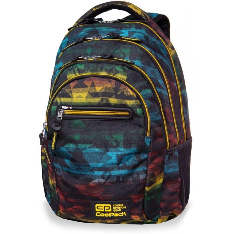 4c3a3cdc430d6 Plecak młodzieżowy CoolPack CP COLLEGE HYDE kolorowy - 5 przegród - kieszeń  RFID