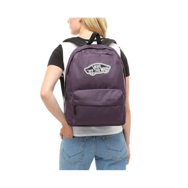 Fioletowy plecak Vans Off the Wall Realm Mysterioso modny