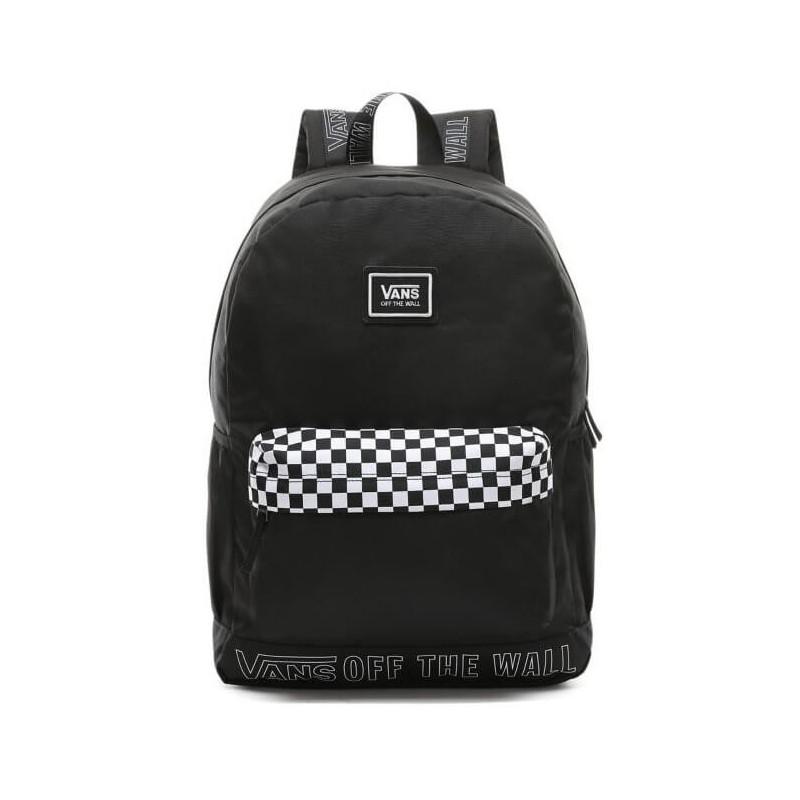 Nowa lista klasyczne buty przejść do trybu online Plecak VANS SPORTY REALM PLUS BLACK SURROUND czarna szachownica