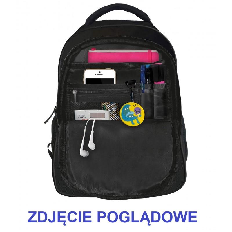 974ce95e12c8f ... Plecak szkolny młodzieżowy w panterkę z uszami dla dziewczyny BackUP  X91 organizer
