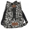 Torebka plecak 2w1 BackUP kremowy Canvas DMUCHAWCE A55