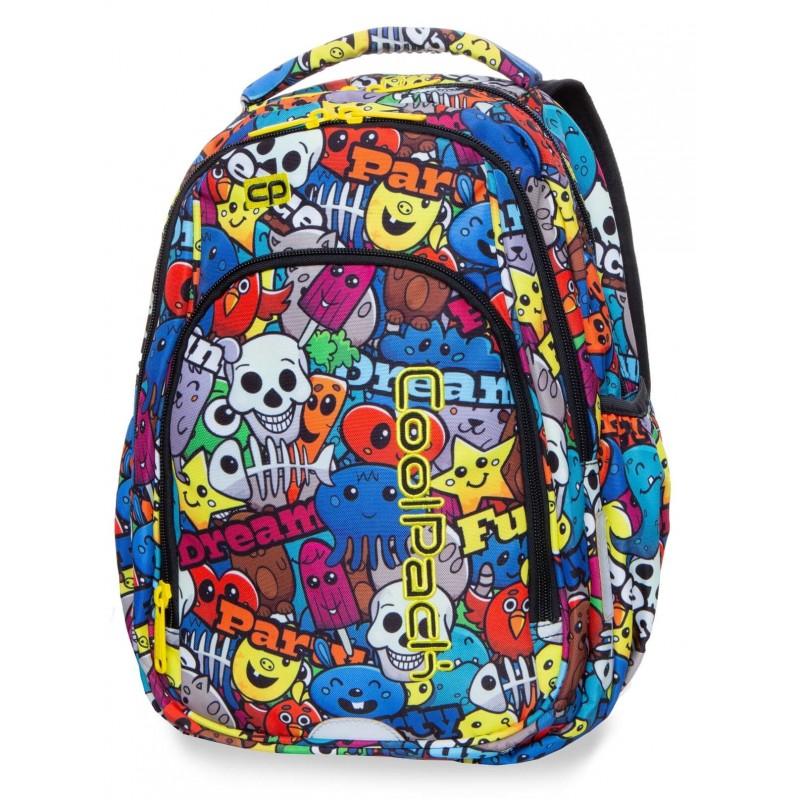 62d8f52d17c12 Plecak szkolny dla pierwszoklasisty kreskówki CoolPack Cartoon Strike S