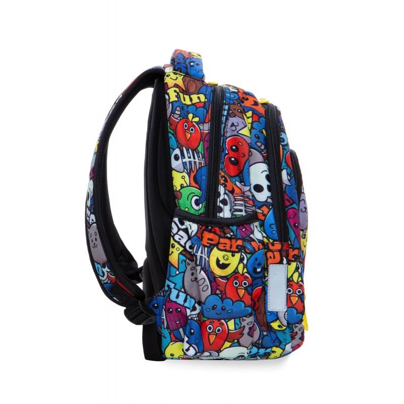 14ae5bde4ae96 ... Plecak szkolny dla pierwszoklasisty kreskówki CoolPack Cartoon Strike S  bok ...