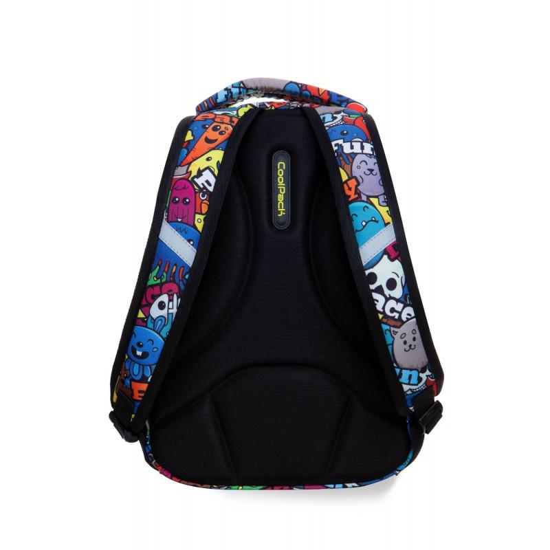 10ff4f8493f6e ... Plecak szkolny dla pierwszoklasisty kreskówki CoolPack Cartoon Strike S  tył ...