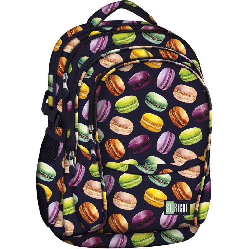 b36fe59414c1 ... Plecak szkolny do pierwszej klasy w makaroniki ST.RIGHT MACARONS BP26 1  ...