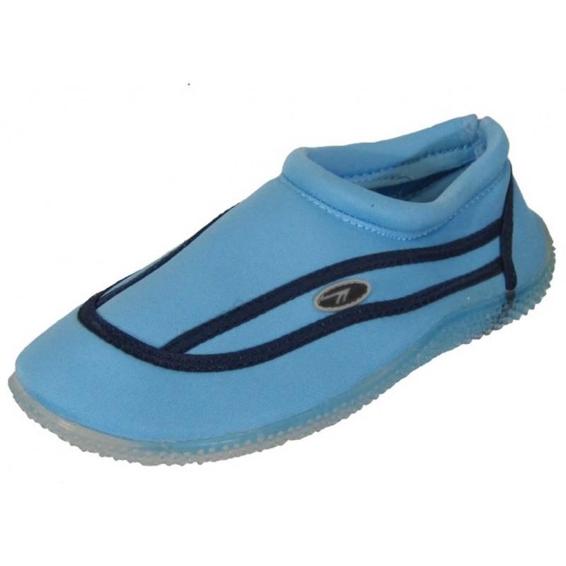 546d571679575b Buty damskie jasnoniebieskie do wody na kajak lato Hi-Tec wygodne blue