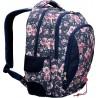 Plecak szkolny ST.RIGHT ROSES jeansowy w róże BP32