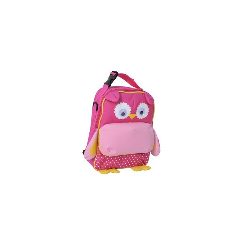 Plecak przedszkolny Sowa różowa