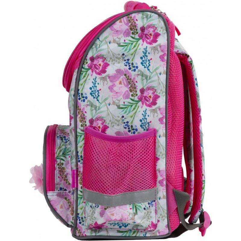 e65d68004fa10 ... Tornister z koniem w kwiaty dla dziewczynki I Love Horses pastelowy ...