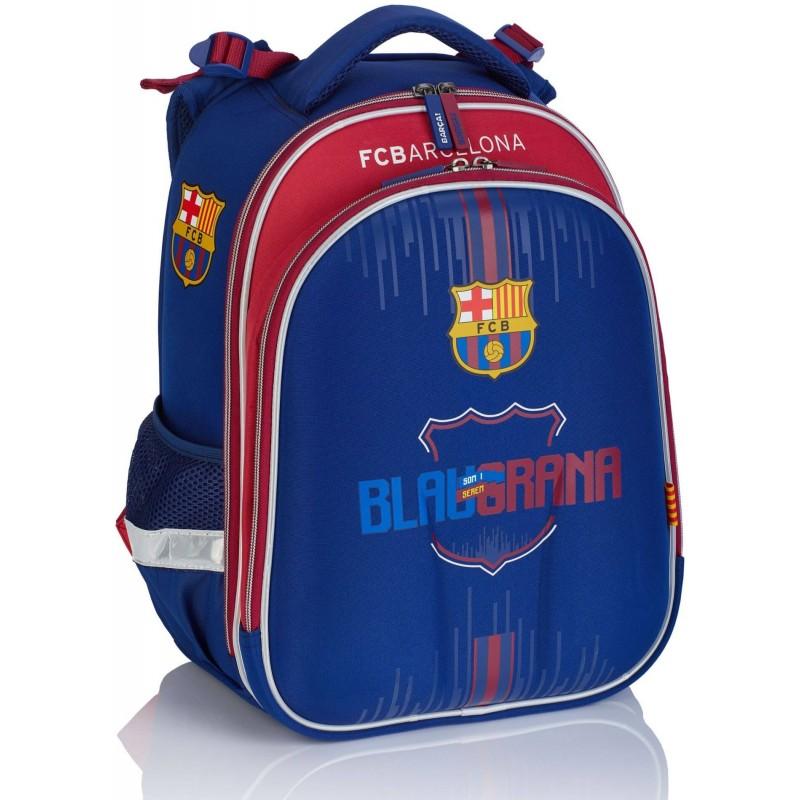 88d59ef917de1 Tornister plecak szkolny FC Barcelona dla chłopca FC-220 granatowy