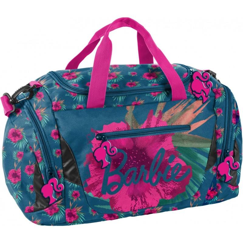 74b2b344f4c82 Torba sportowa na basen Barbie z kwiatem hibiskusa Paso dla dziewczyny